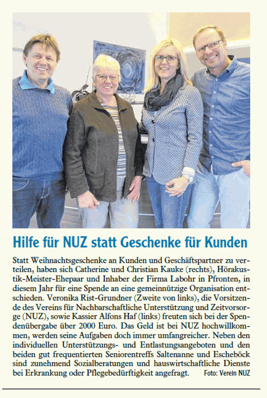 2019.12 Hilfe für NUZ Allgäuer Zeitung