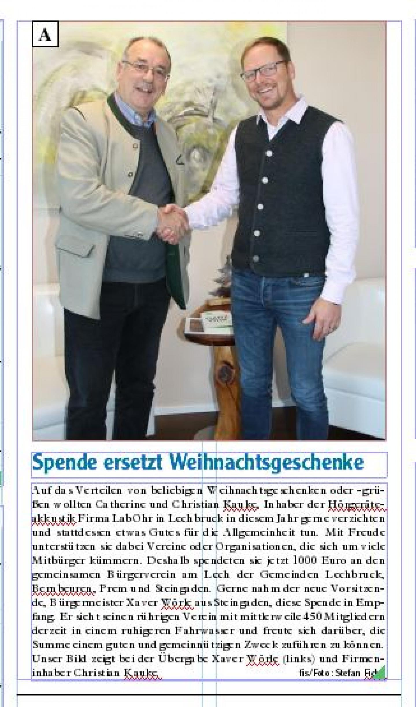Spende-Bürgerverein-Lechbruck-Steingaden